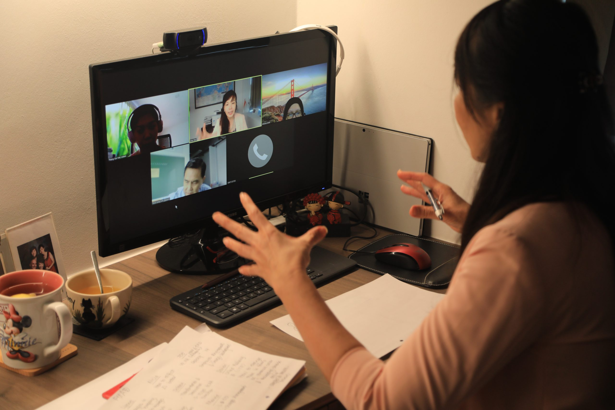 delivering online workshop