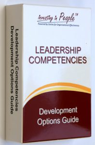 Leadership Competencies - Development Options Guide